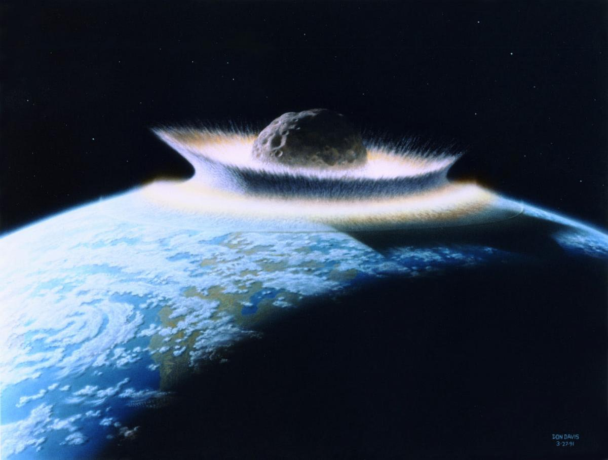 Major Asteroid Impacts Benefit The Environment, Scientists Claim - International Business Times