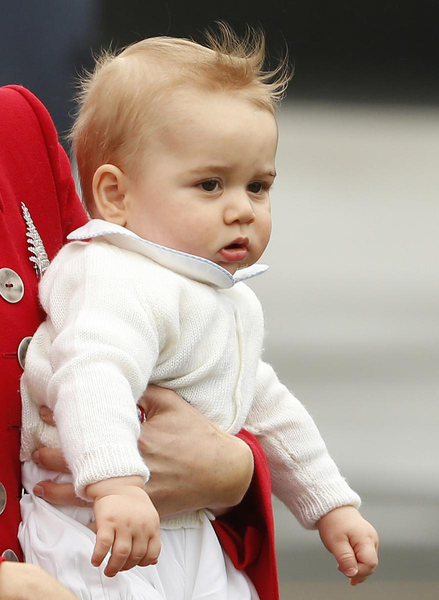 The Prince George Effect The Royal Baby S Most