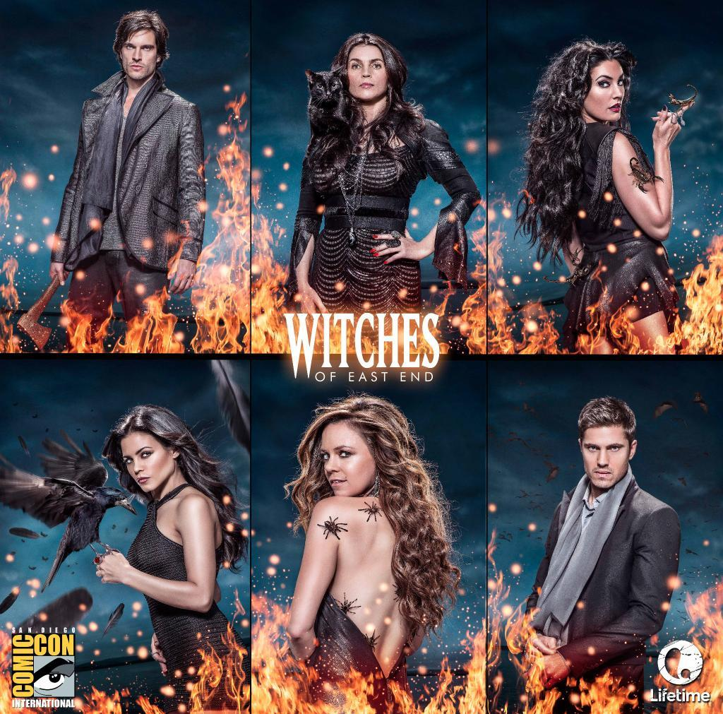 Witches Of East End Season 2 Spoilers Comic Con Poster Released 5 Spooky And Sexy Things We Learned From Sdcc 2014