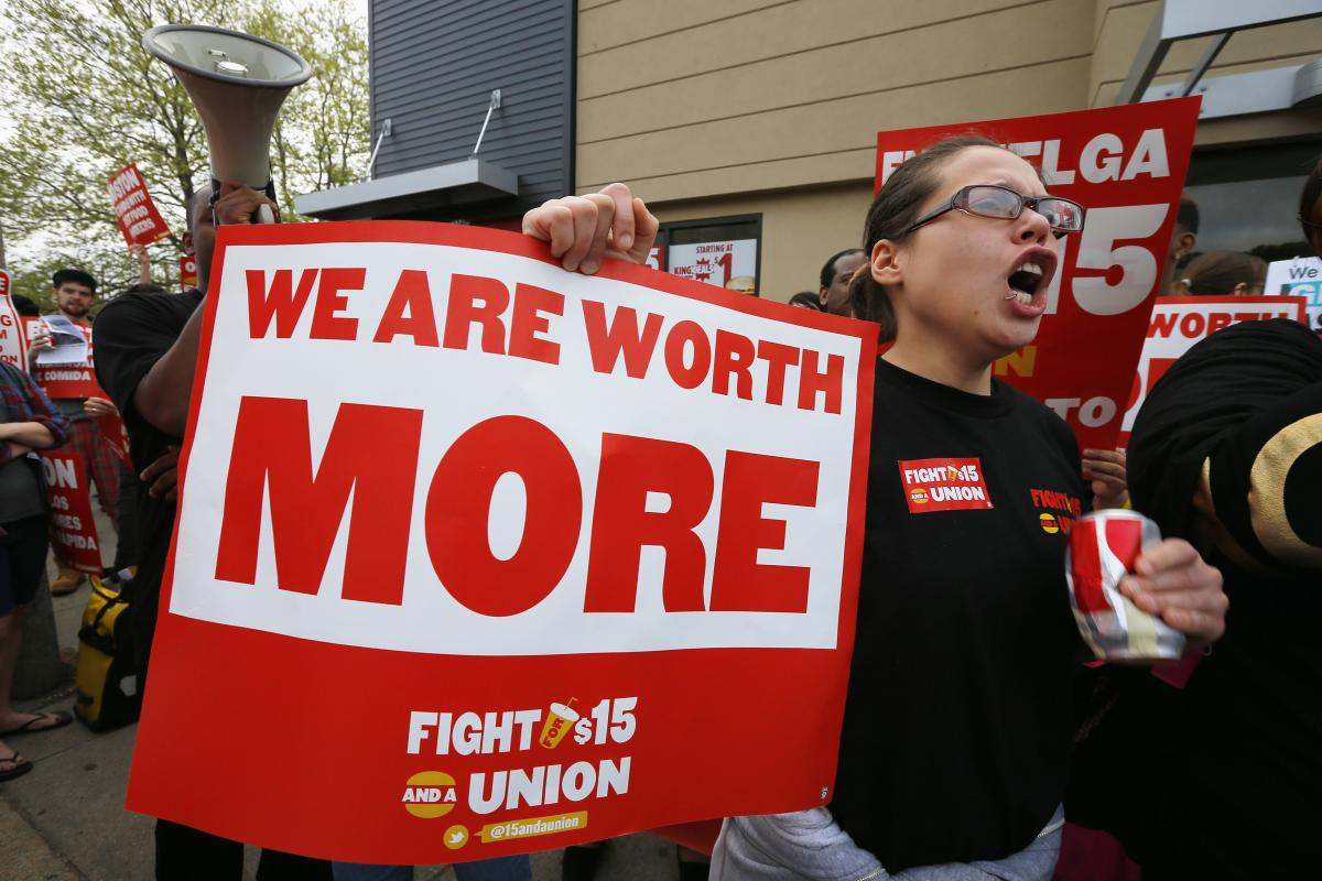 Fast Food Strike September 2014: Workers Seek $15 Minimum Wage, Right To Unionize