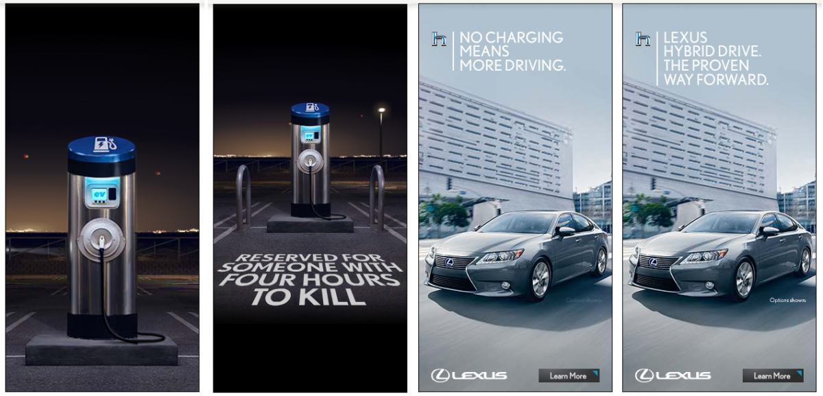 Lexus Adver For Hybrid Cars Has Infuriated Electric Car Fans Who Accuse Toyota Of Stoking Fear