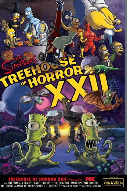 Halloween Simpsons Treehouse Of Horror.The Simpsons Treehouse Of Horror Marathon To Air Oct 26 On Fxx