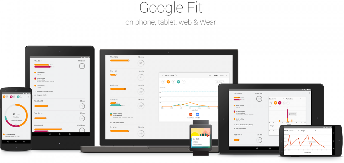 Google Releases Fit App For Android Wear, Smartphones And
