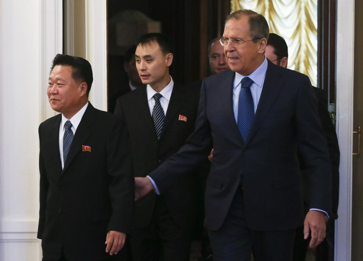 North Korea, Russia Agree To Increase Efforts To Restart Six-Party Talks On North's Nuclear Program