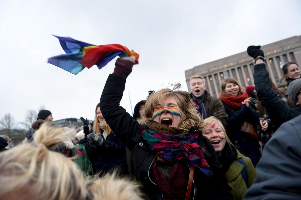Finland Parliament Passes Law Permitting Same-Sex Marriage