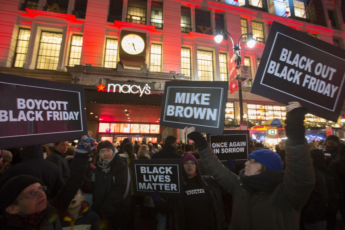 Ferguson Protests On Black Friday After Sharing Turkey With National Guard On Thanksgiving