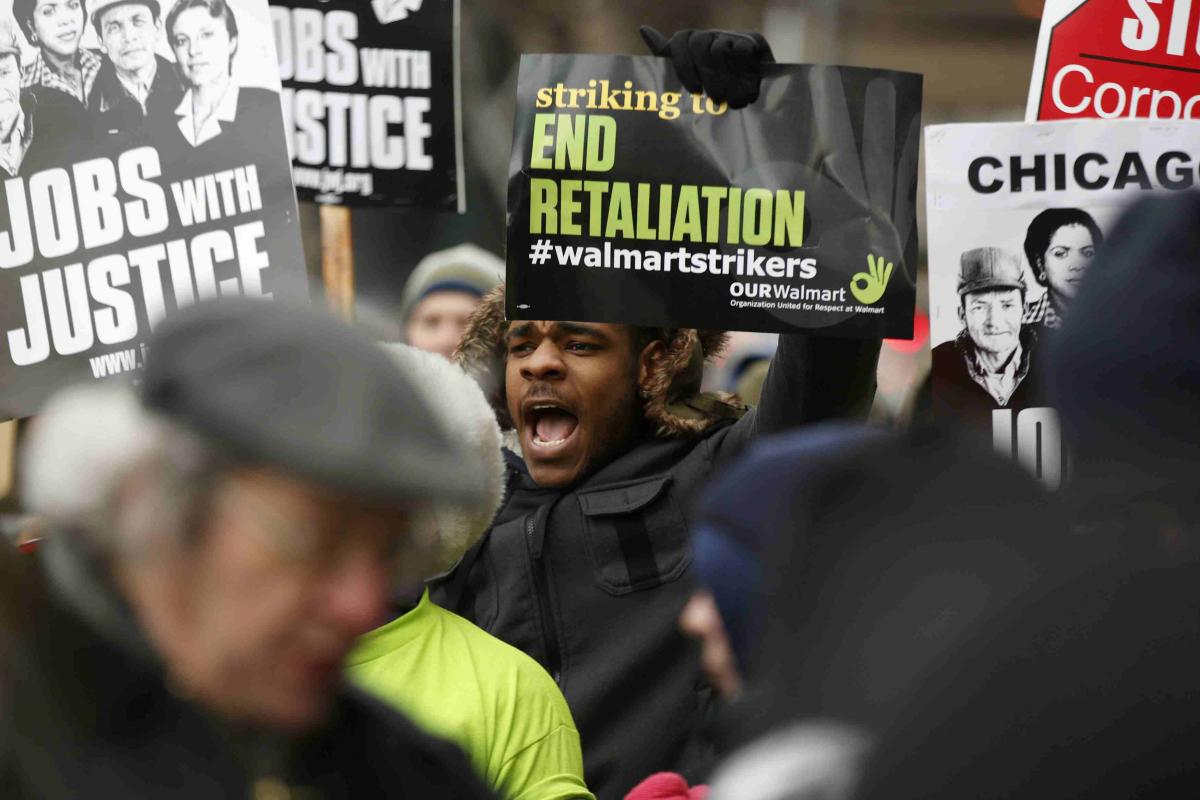Walmart Workers Picket 1,600 Stores Demanding Higher Wages And Full-Time Work