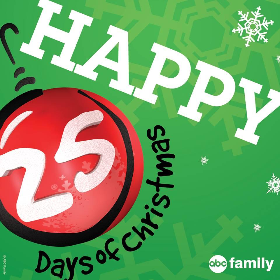 abc familys 25 days of christmas 2014 premieres dec 1 12 holiday specials you wont want to miss - 25 Days Of Christmas Abc Family