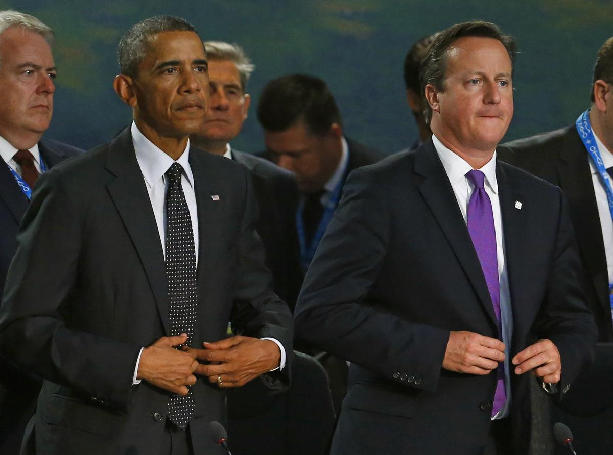 UK Prime Minister Cameron Wants Obama To Oppose Encrypted Web Services, Devices