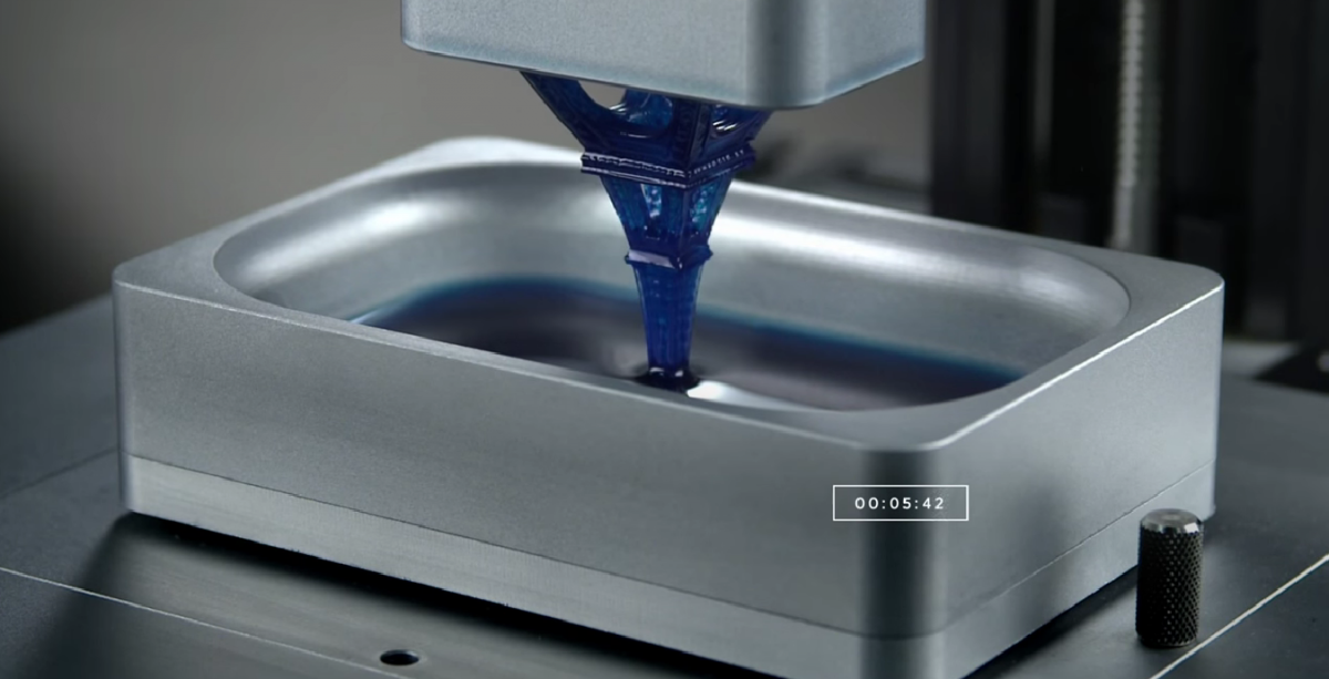 New Terminator-Inspired 3D Printer 'Grows' Objects From A Bowl Of Resin