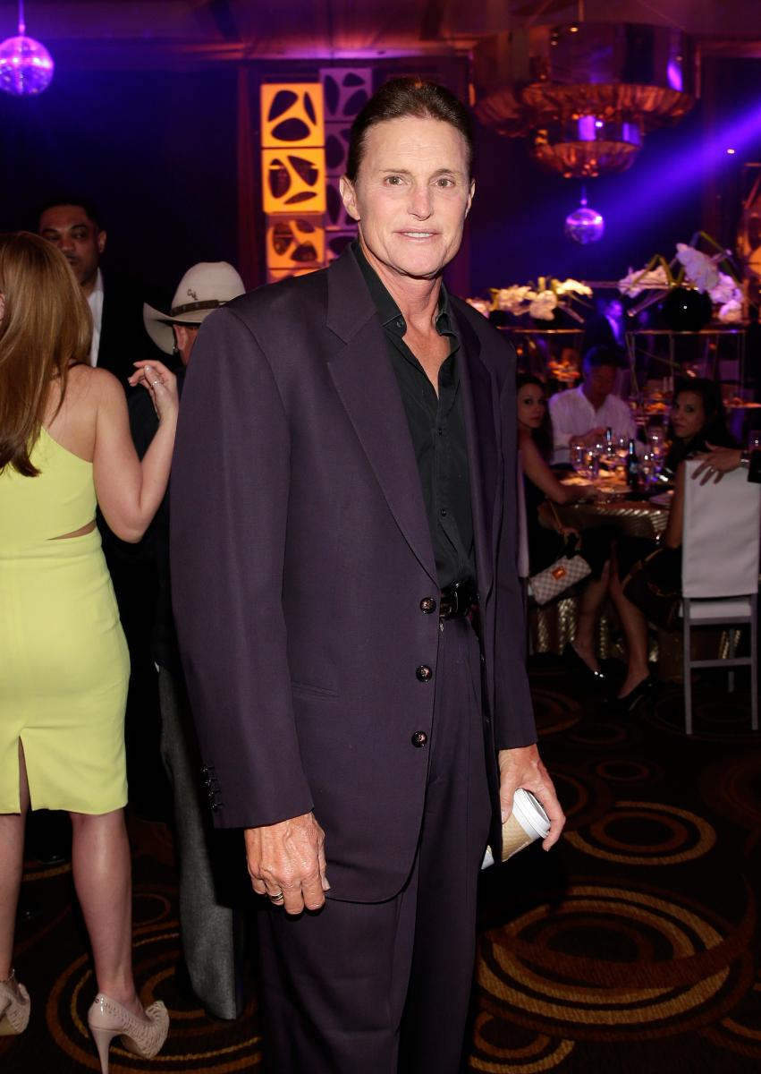 Bruce Jenner Covers Up After Breast Augmentation Rumors; Air Date For Diane Sawyer Interview Announced