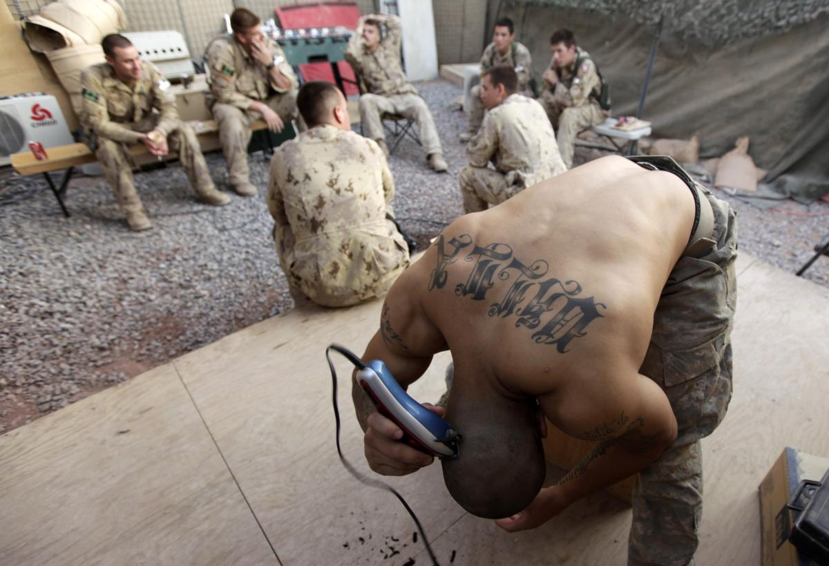Us Army Tattoo Policy 2015 Military Relaxes Rules And