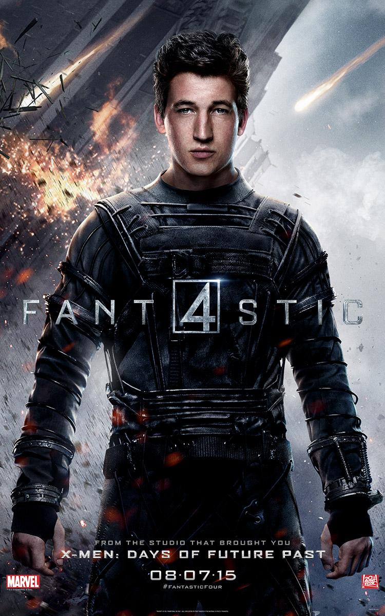 Fantastic Four 2015 Posters Released Check Out The New Character
