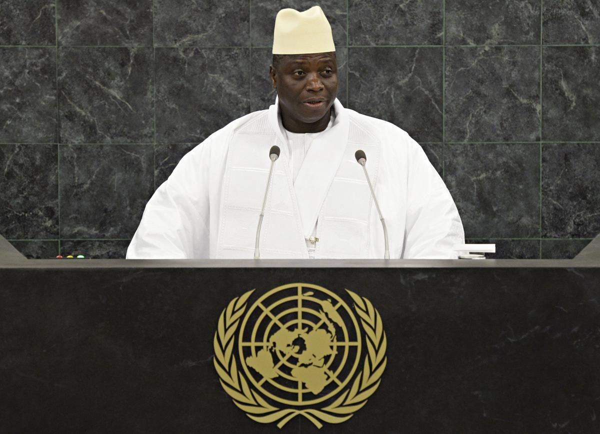 Gambia's President Yahya Jammeh Threatens To Slit The Throats Of Gay People