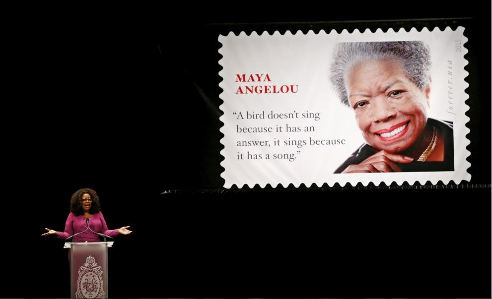 Maya Angelou Poems 2015: 10 Inspirational Messages About