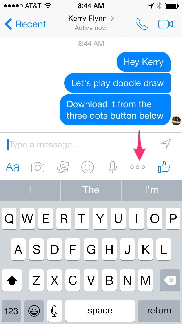 How To Play 'Doodle Draw,' Facebook Messenger's First Game