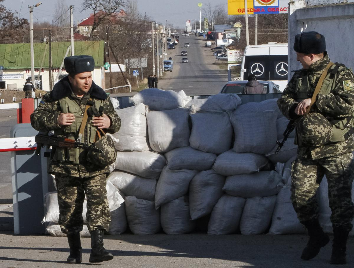 Ukraine-Russia Conflict: Thousands Of Ukrainian Troops On Border With Russian-Influenced Transnistria In South