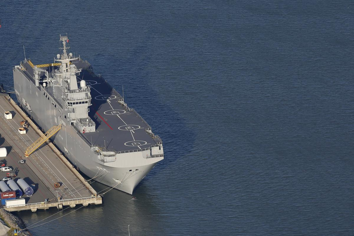 Egypt Not Russia To Purchase Mistral Class Ships From
