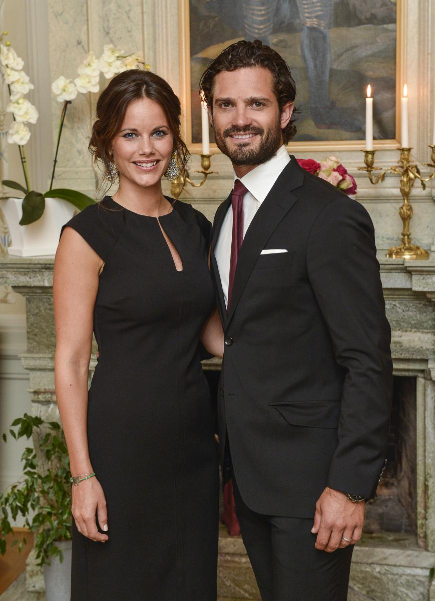 55268f0763e Princess Sofia Of Sweden Stuns In Borrowed Dress And Jacket From Sister-In-Law  Princess Victoria By Seraphine