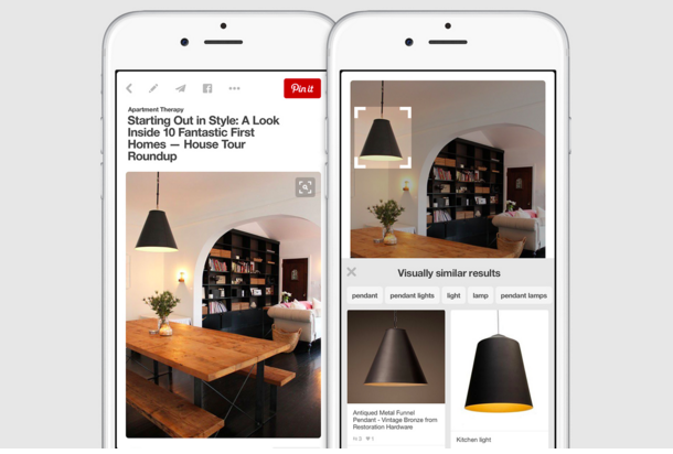 Pinterest Update Adds Virtual Search Tool For Scanning Images