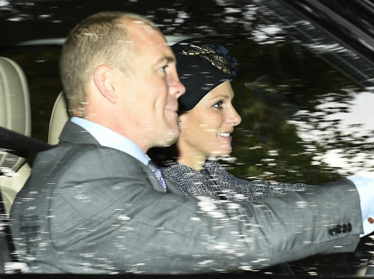 Mike Tindall And Zara Phillips Attend Magic Millions