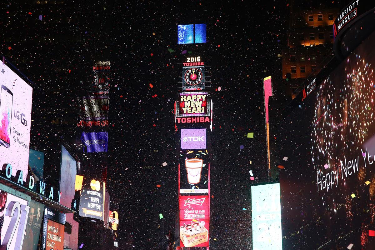 Time Square Ball Drop