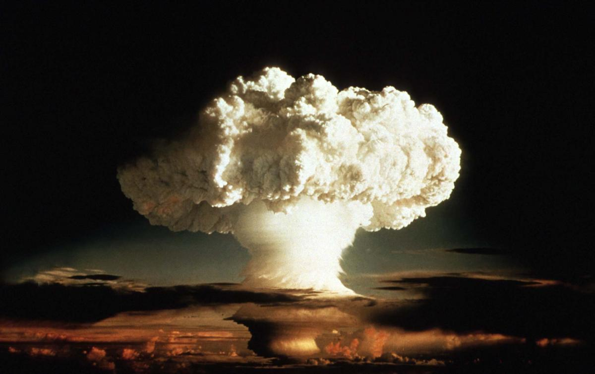 an analysis of atomic bomb and hydrogen bomb forms of nuclear energy bombs This is the difference between an atomic and bombs release massive amounts of energy by of nuclear fission, while a hydrogen bomb forms the.