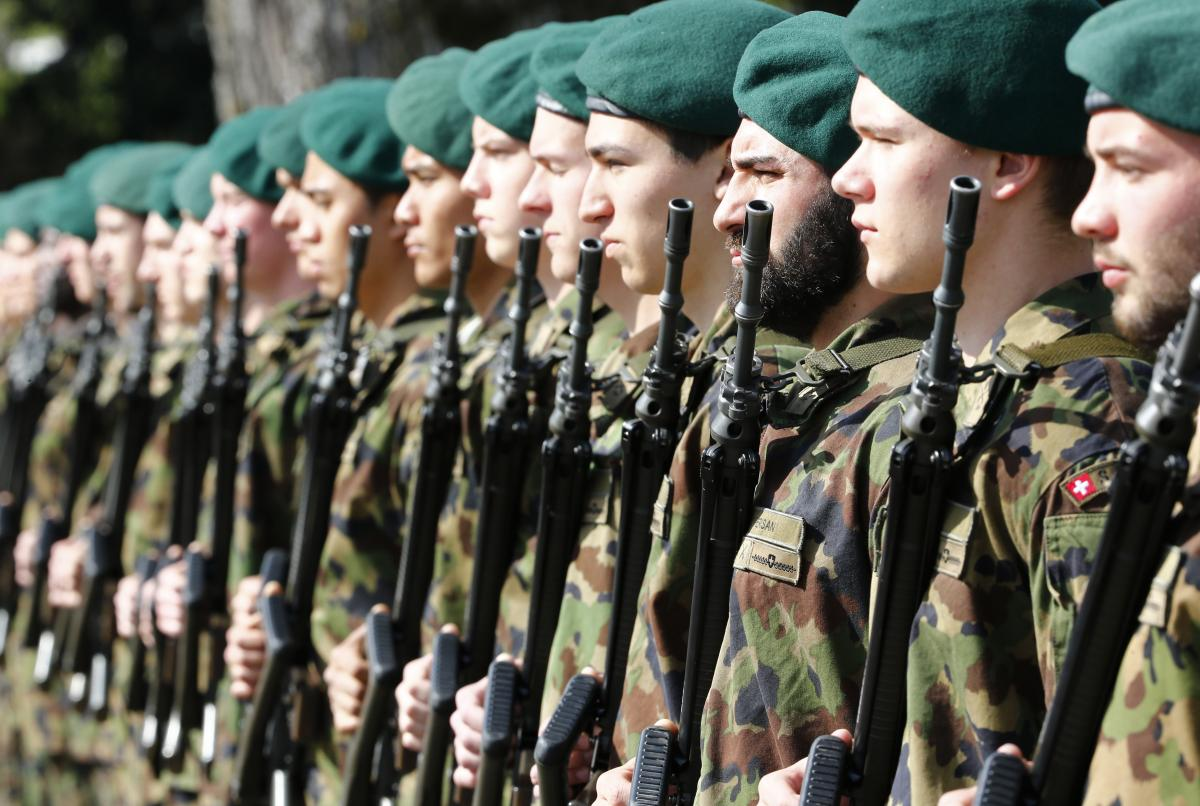 Image result for switzerland military