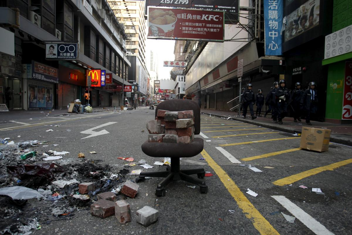 Hong Kong Clashes: Over 50 People Arrested After Protests