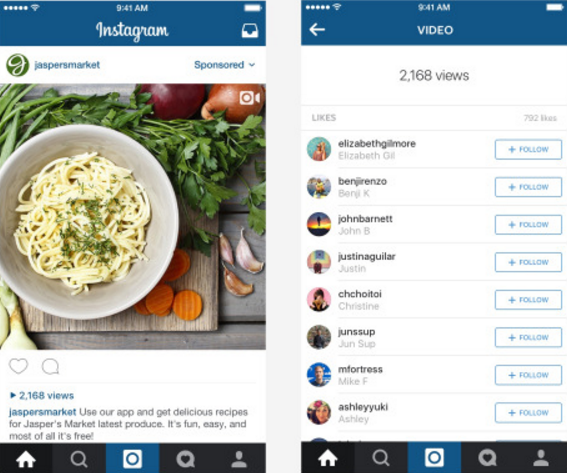 Instagram Video Views To Replace 'Like' Counter On Homescreen Of