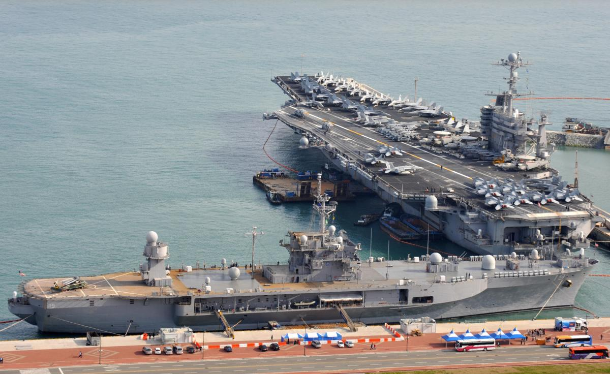 South China Sea Controversy: Pentagon Sends USS John C Stennis Aircraft Carrier To Disputed Region