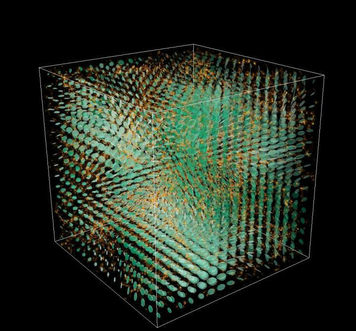 New Simulation Incorporating Effect Of Gravitational Waves Could Shed Light On Dark Energy