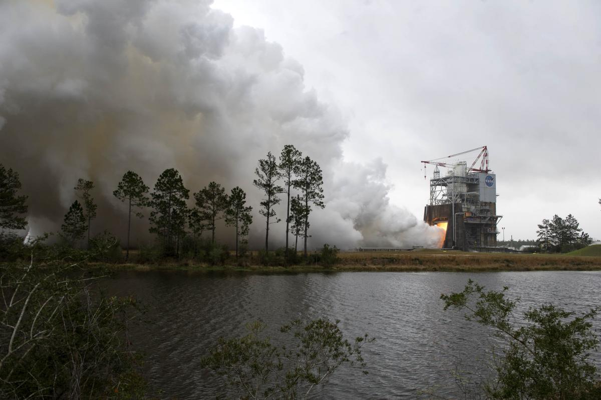 NASA Successfully Tests Engine That Would Power Its New Deep Space Exploration Rocket
