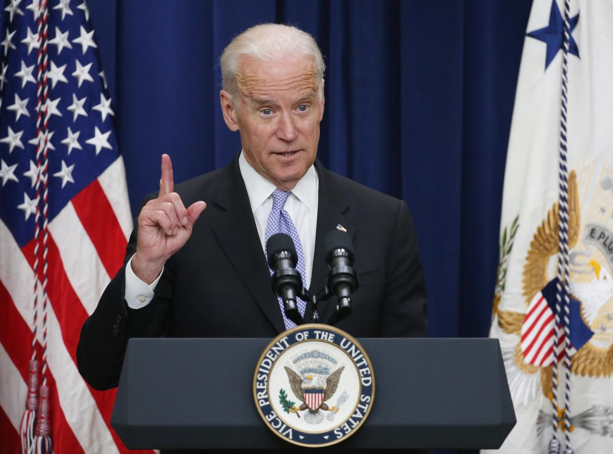 Biden Visits Iraq For Talks With Officials, Show Of Support