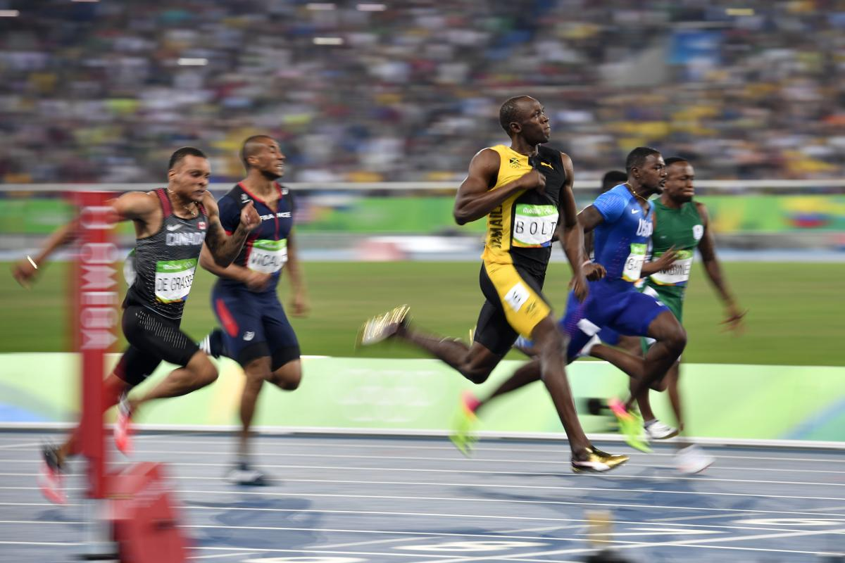 usain bolt presentation pe The time between the presentation of a stimulus and the onset of movement agility the ability to change the position of the body quickly and to control the movement of the whole body.