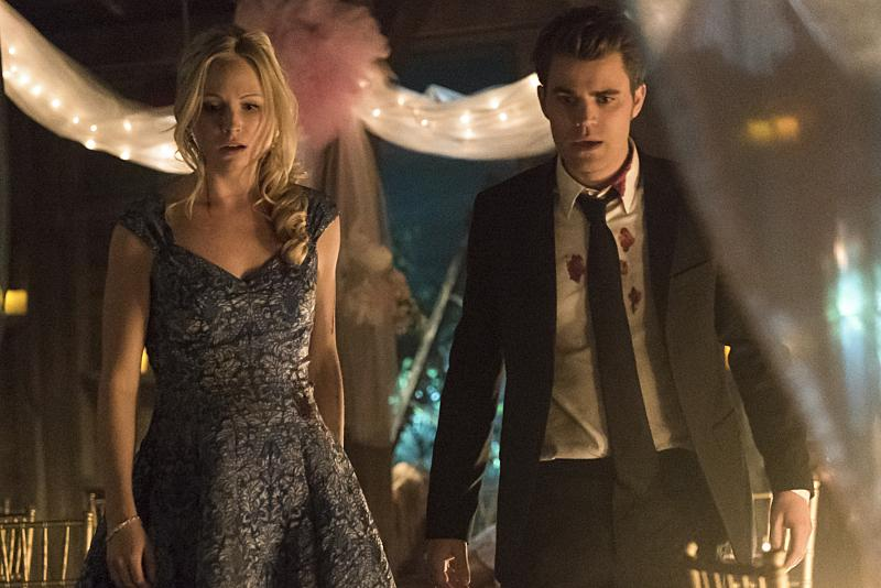 vampire diaries season 8 spoilers stefan and caroline s