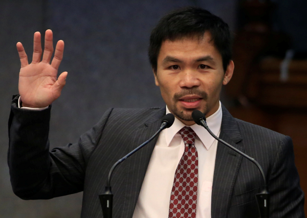 Manny Pacquiao Wants Philippines To Forget Basketball, Focus On Combat Sports