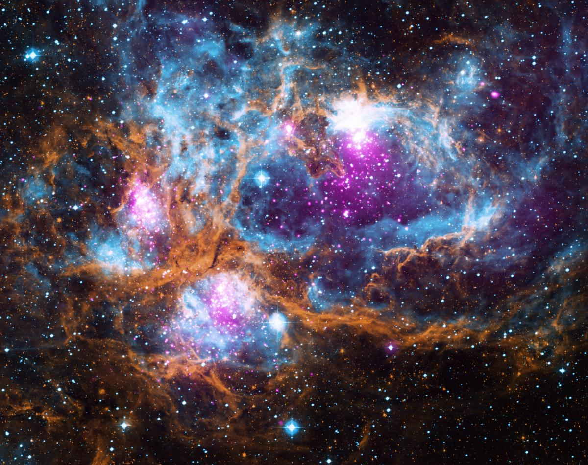 Astronomers Spy NGC 6357 — A Massive Stellar Nursery Located 5,500 Light-Years From Earth
