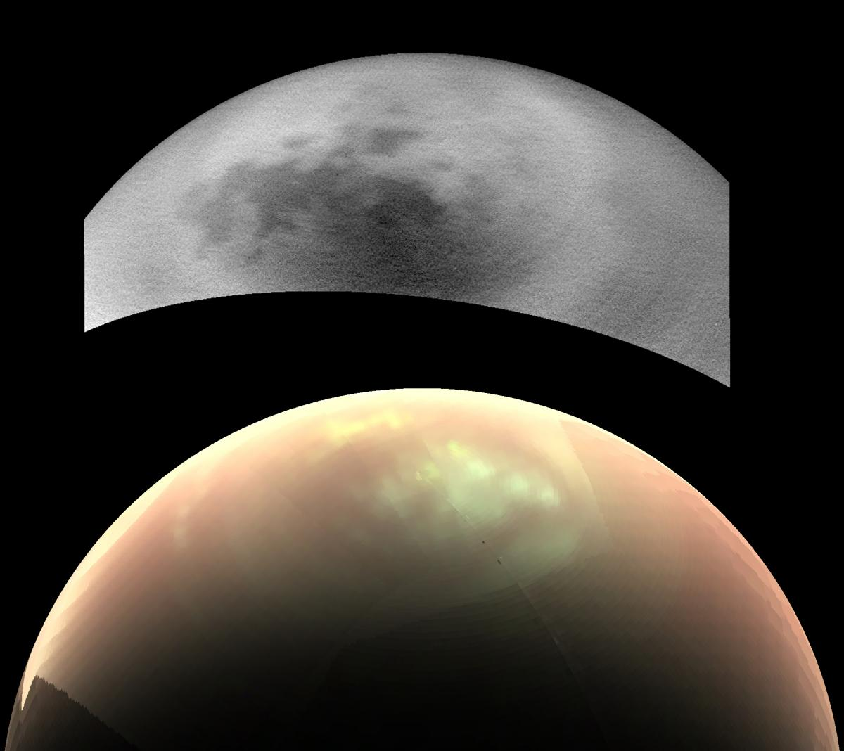 Where Are Titan's Clouds? Cassini Images Reveal Curious Conundrum