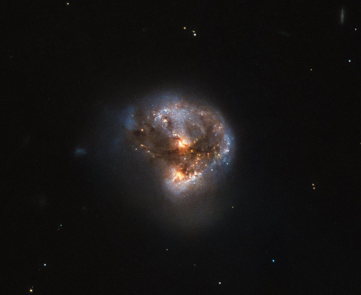 Hubble Space Telescope Spots A 'Megamaser' In A Galaxy 370 Million Light-Years From Earth