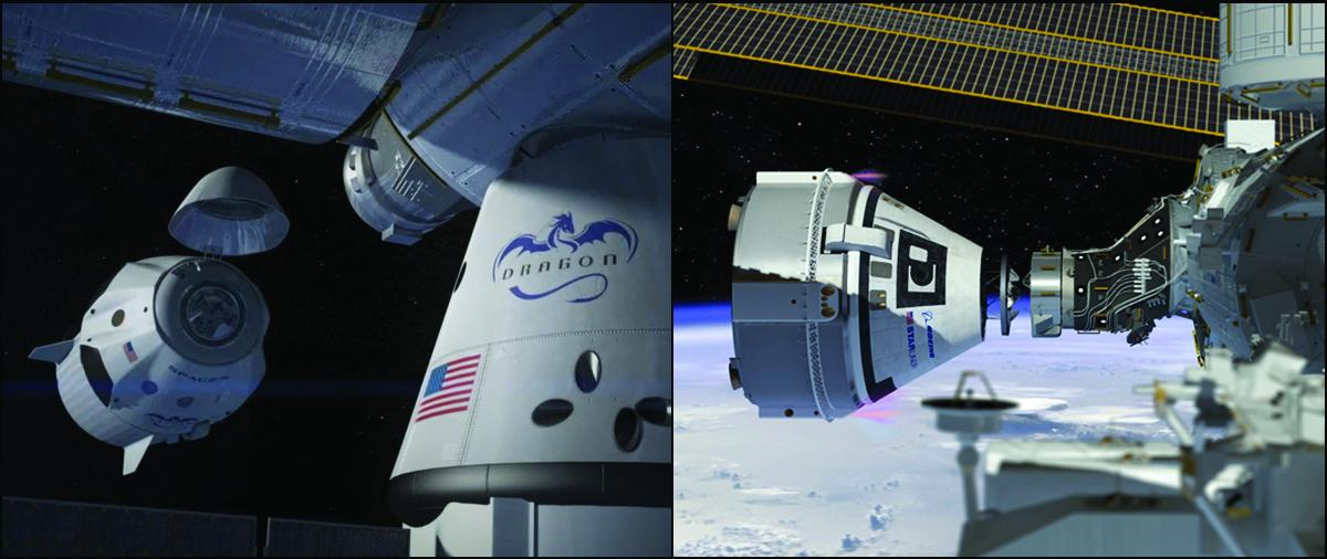NASA Awards Fresh Contracts To Boeing, SpaceX To Ferry Astronauts To And From International Space Station