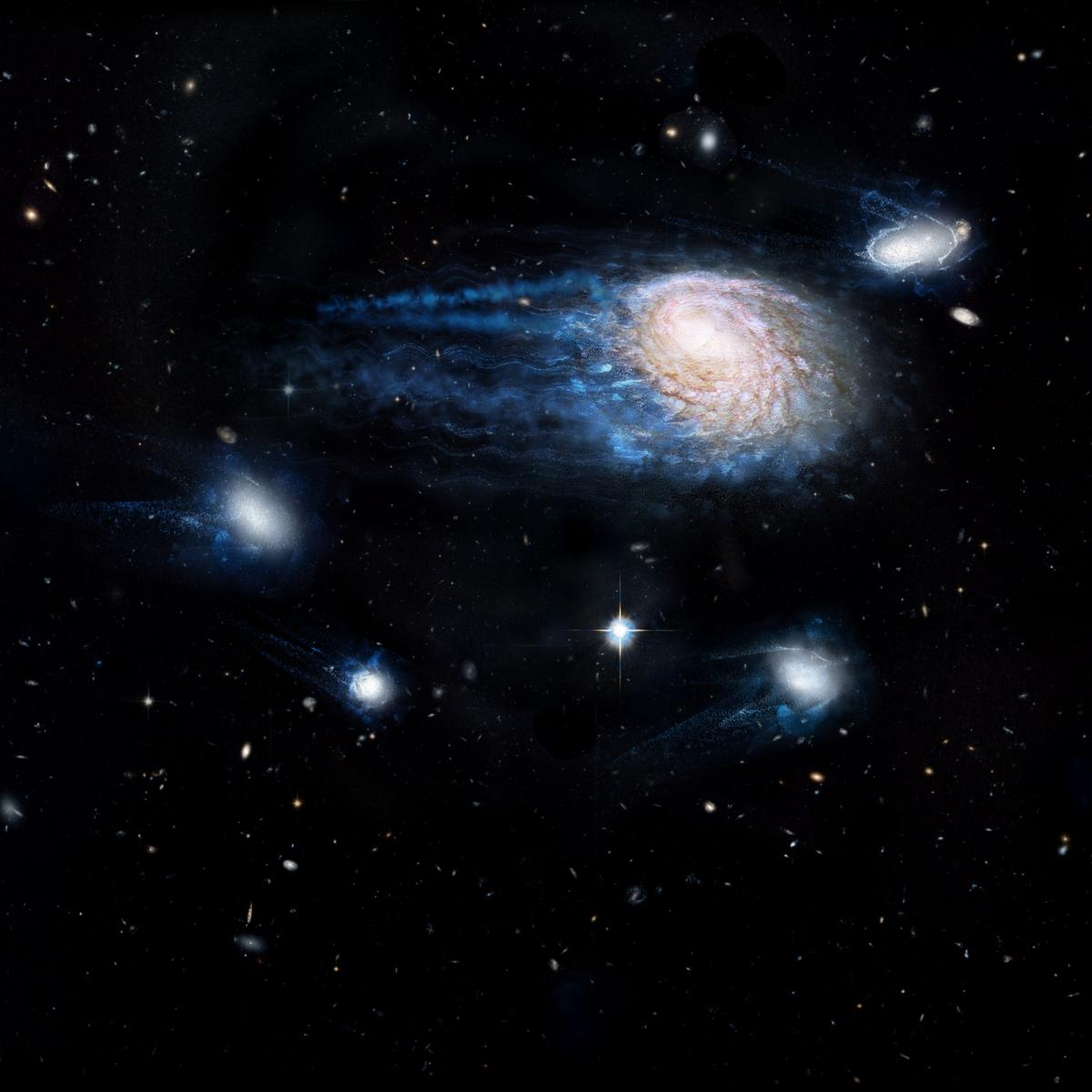 Dark Matter May Be Responsible For Killing Off Galaxies Across The Universe, Researchers Say