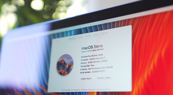 Apple macOS Sierra 10.12.4 Beta Features Night Shift, App Store Touch Bar Support And More