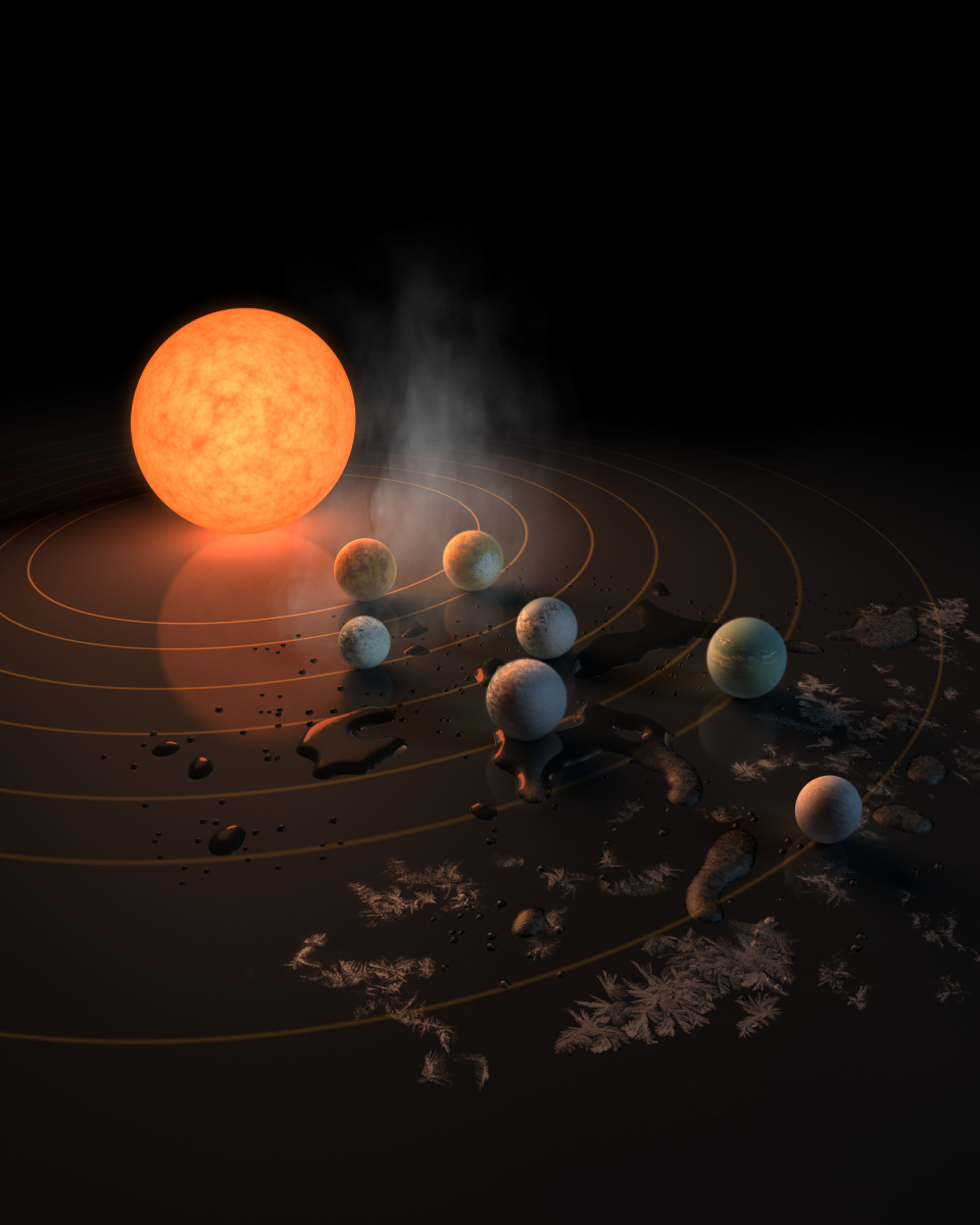 TRAPPIST-1: NASA's Kepler Telescope Provides Another Look At Seven-Planet Star System