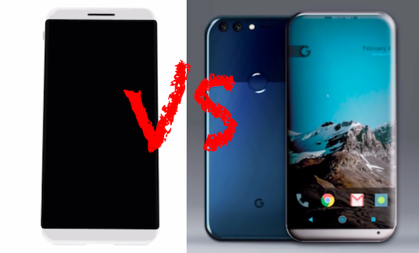 Apple iPhone 8 vs. Google Pixel 2: Comparison Review Of Rumored Specs, Features & More