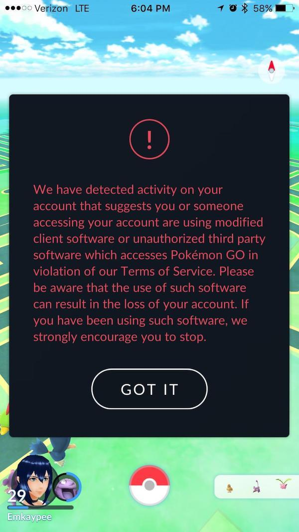 Pokémon GO' Ban: Niantic Rolls Out Warning Against Users Of