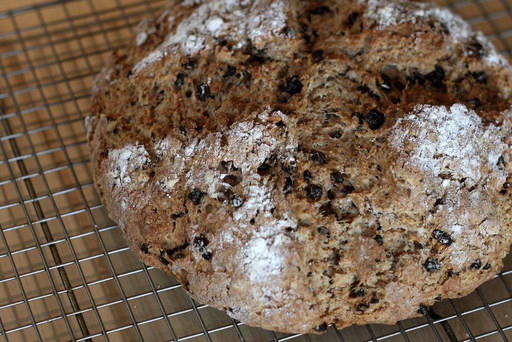 A Super Easy Irish Soda Bread Recipe For St. Patrick's Day Dinner