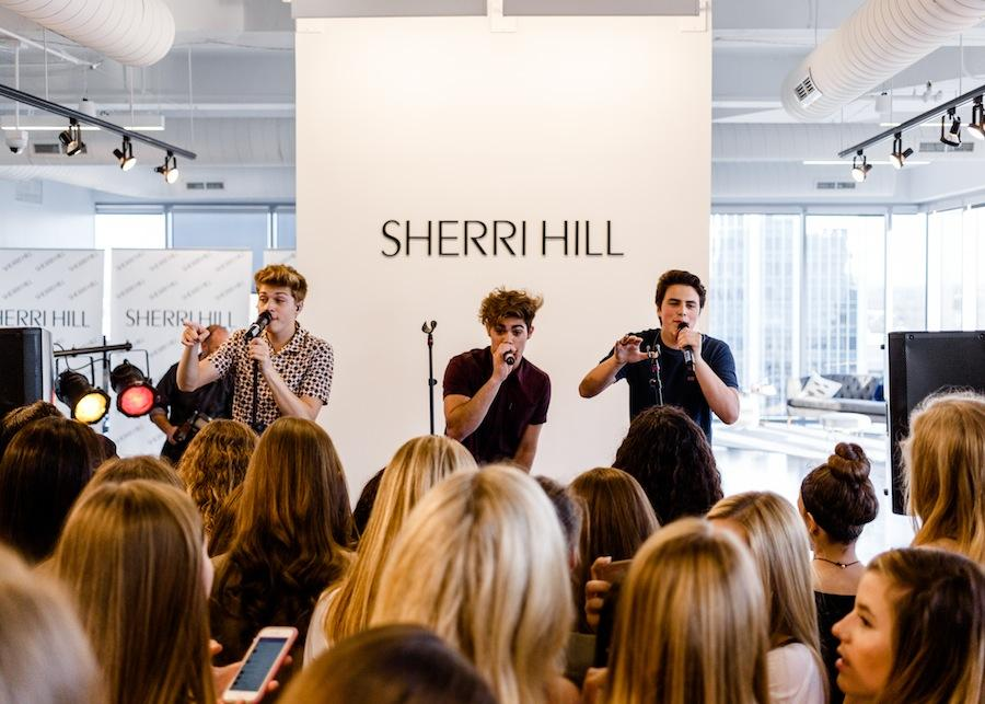 a60afb62812 Designer Sherri Hill Preps For Prom With Forever In Your Mind Concert At  SxSW