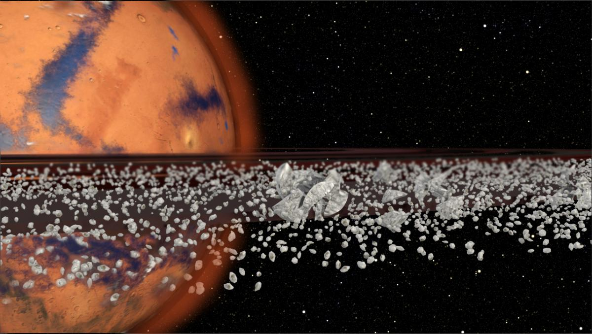 Mars May Once Have Had Rings, And It Will Again ... Eventually