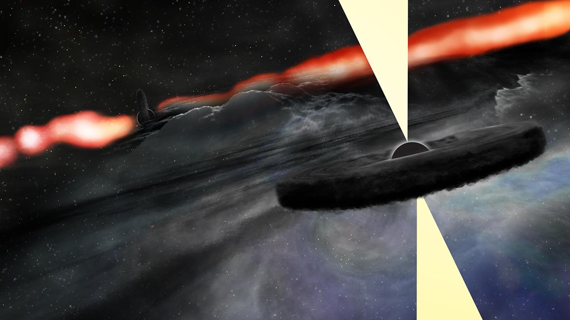 Black Hole Or Supernova Star Explosion? Scientists Spot Galaxy's Mysterious Bright Spot